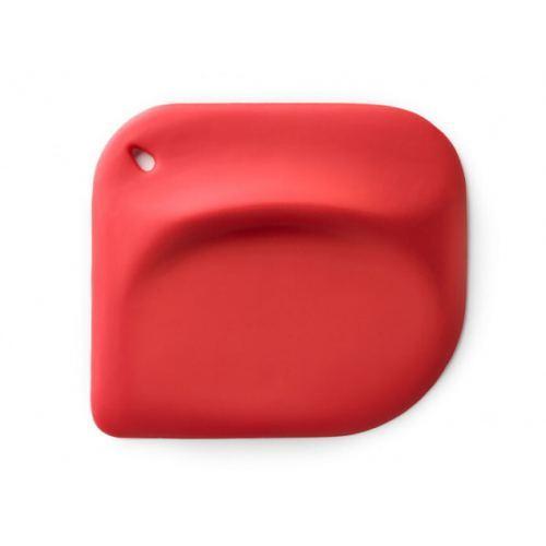 Espátula de Mano en Silicona Roja