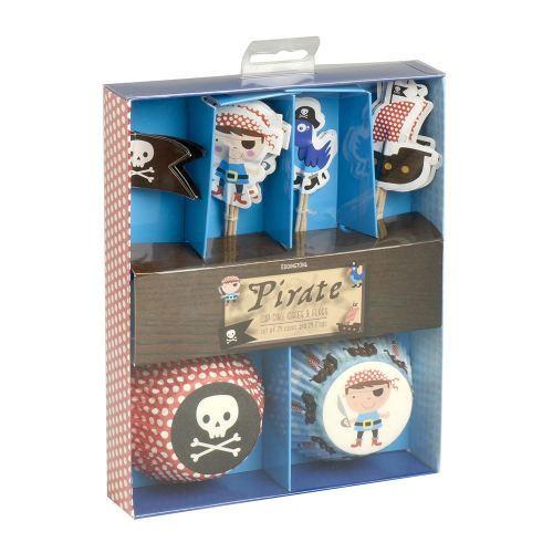 Juego Cupcakes Piratas