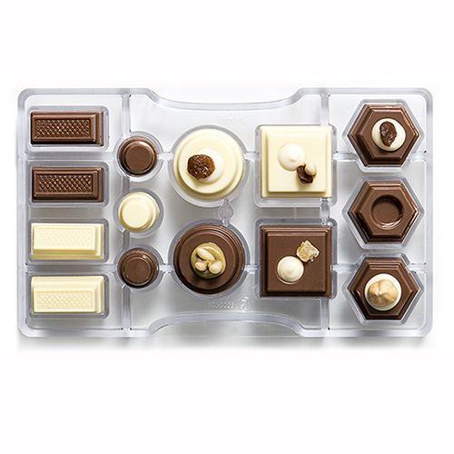 Molde para Chocolate Geométrico