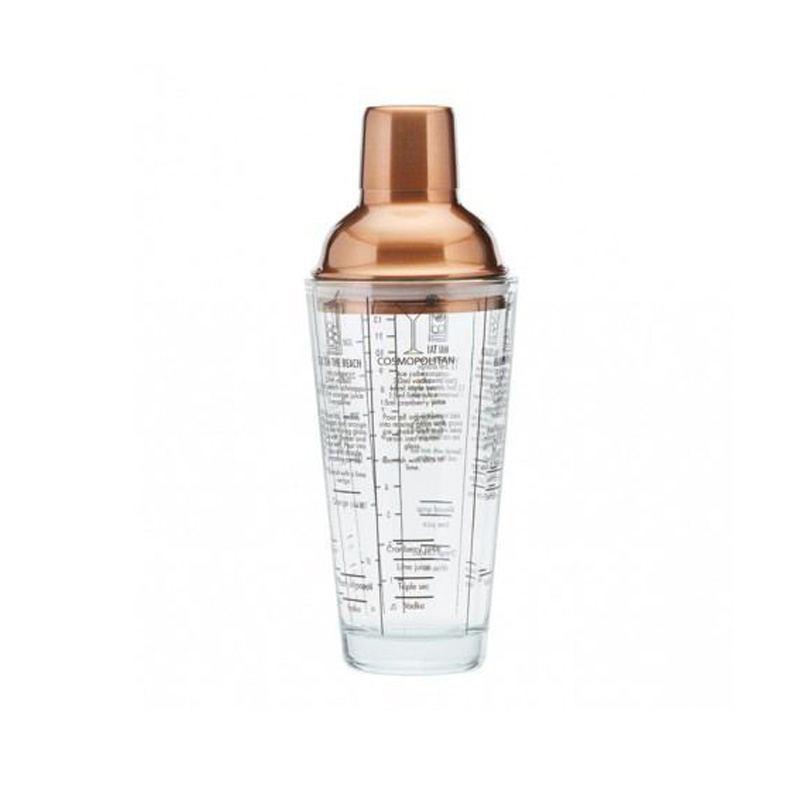 Coctelera de cobre y cristal 700 ml