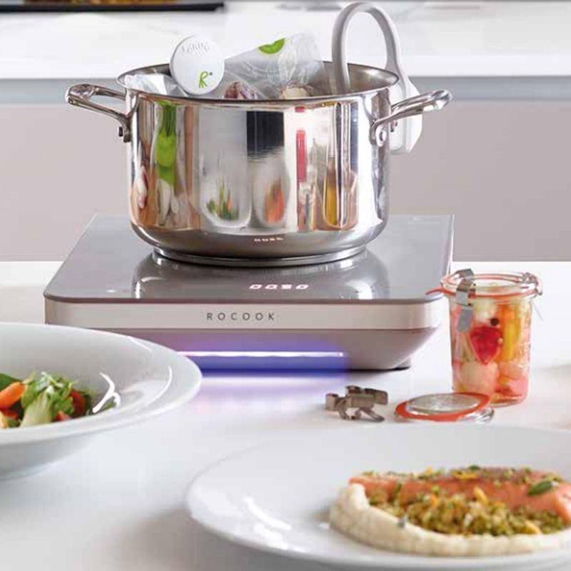 RoCook Advanced Kit Inducción para Cocinar al Vacío a Baja Temperatura