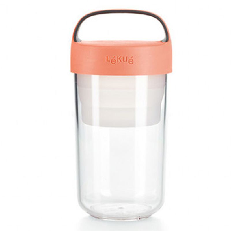 Jar to Go Coral 600 ml