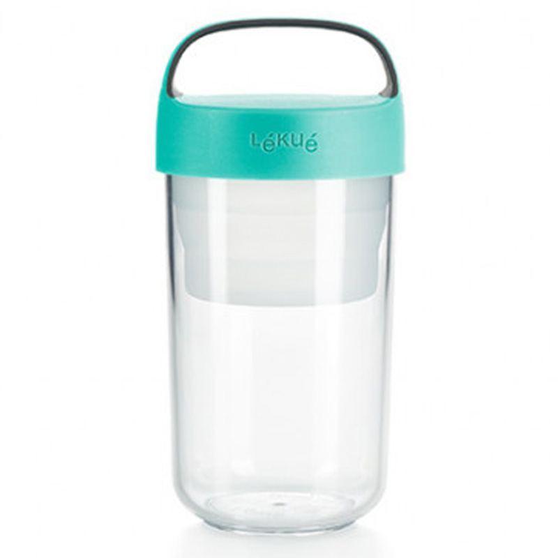 Jar to Go Turquesa 600 ml