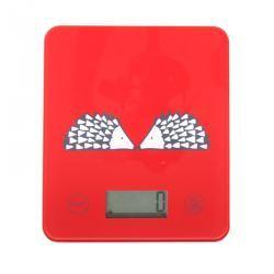 Báscula de Cocina Digital Erizo Rojo