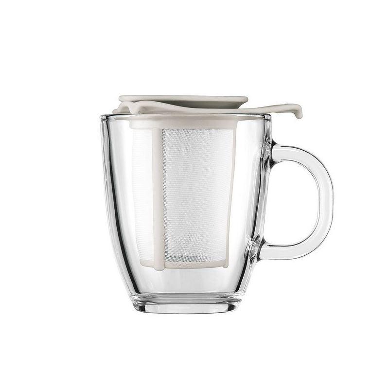 Taza de cristal con filtro Bodum de 0.35l