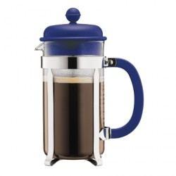 Cafetera de émbolo Chambord Azul 8 tz.