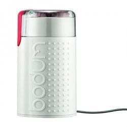 Molinillo de café eléctrico Bistro blanco