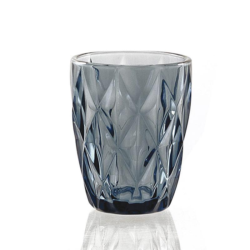 Vaso de Cristal Azul