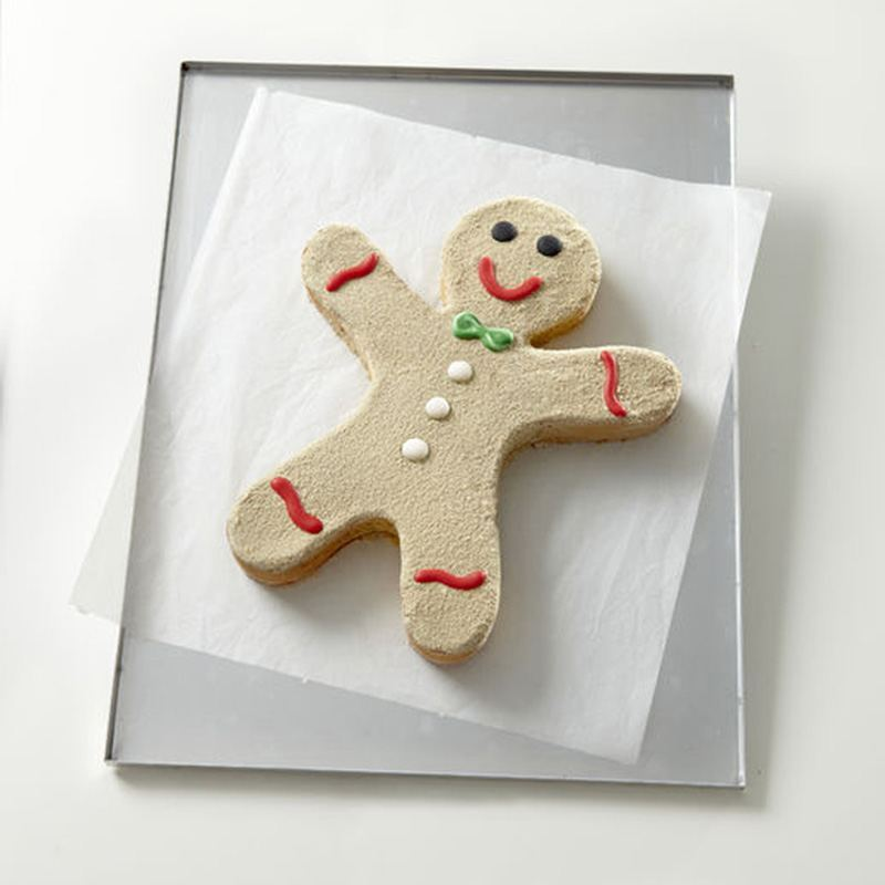 Molde de Tarta Gingerbread Man
