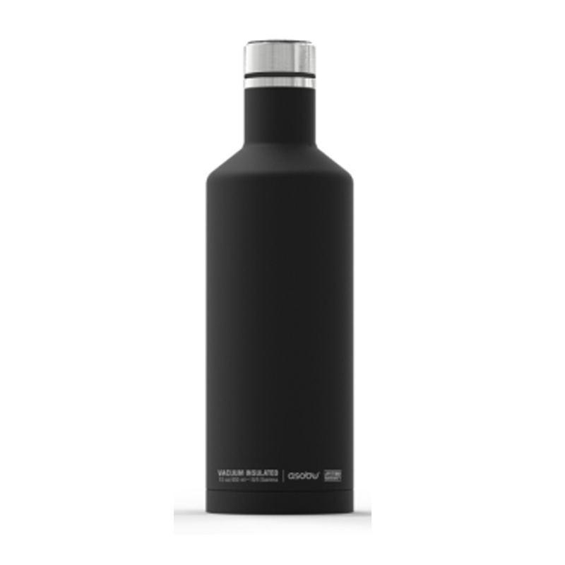 Botella Termo Square Negro