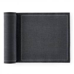 Servilletas de Algodón - Lino 20cm 20uds Gris