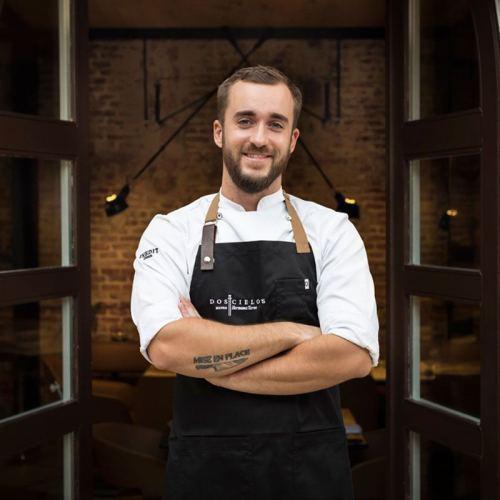 "Damián González ""Restaurante Dos Cielos Madrid"""