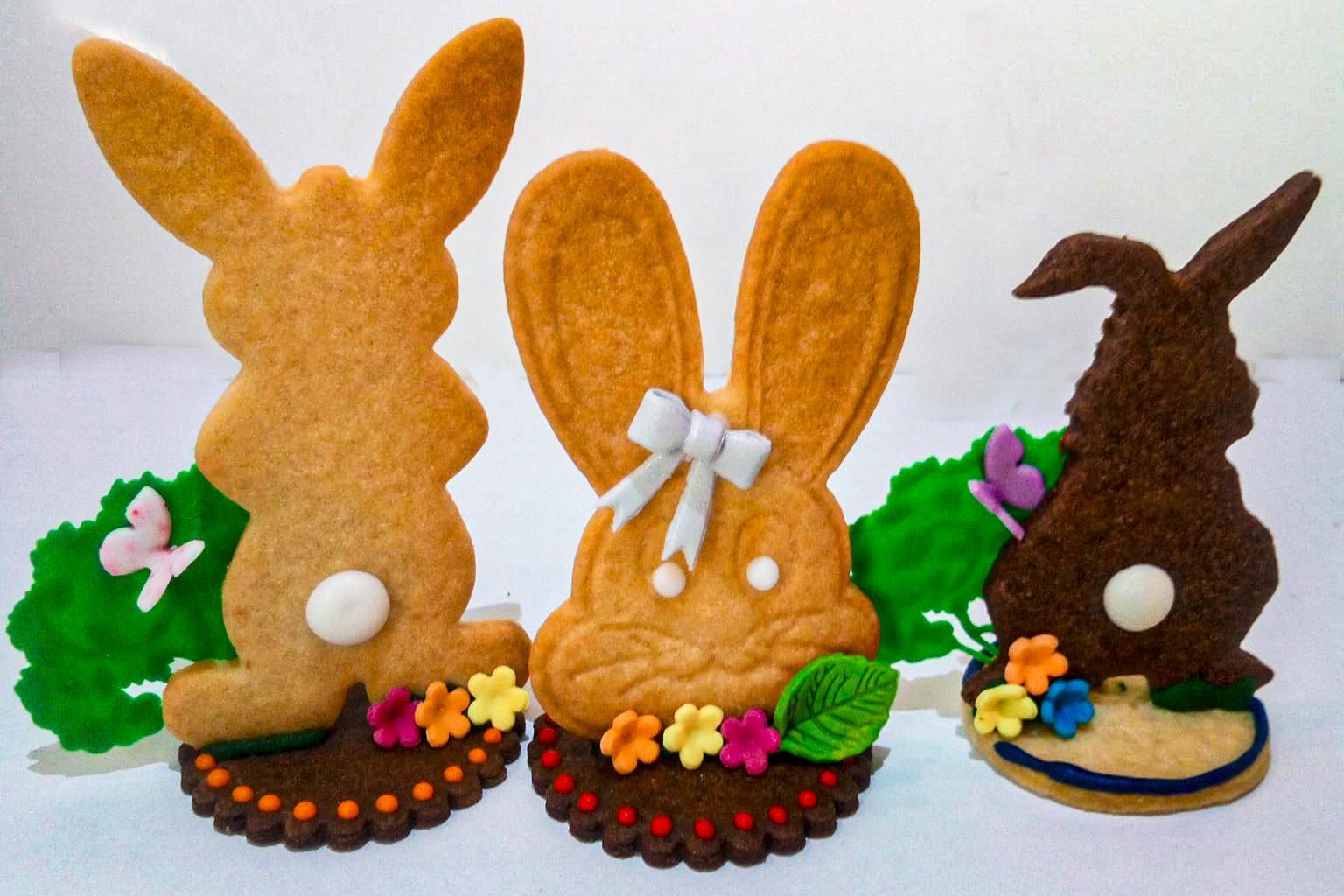 galletas de conejo de pascua
