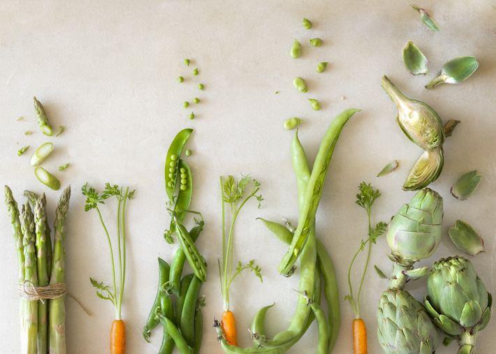Ingredientes menestra de verduras