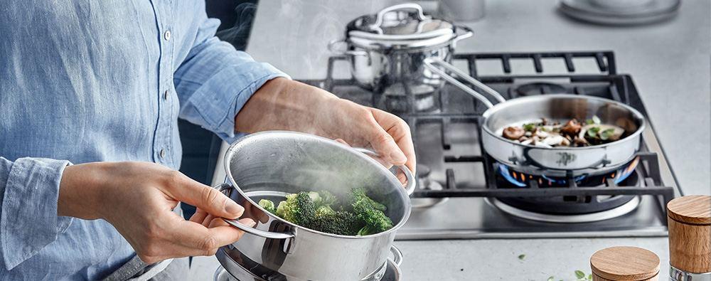 Acero en tu cocina