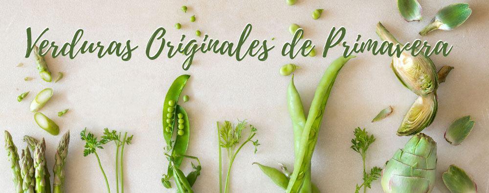 Verduras Originales de Primavera