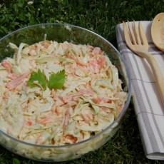 ENSALADA COLESLAW CON VIDEO RECETA