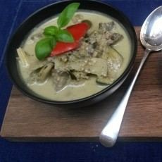 Curry Thailandes Verde de Pollo